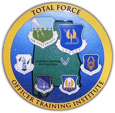 Total Force Officer Training Institution Sign